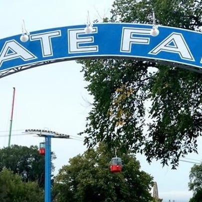 State Fair gate - Stock Image