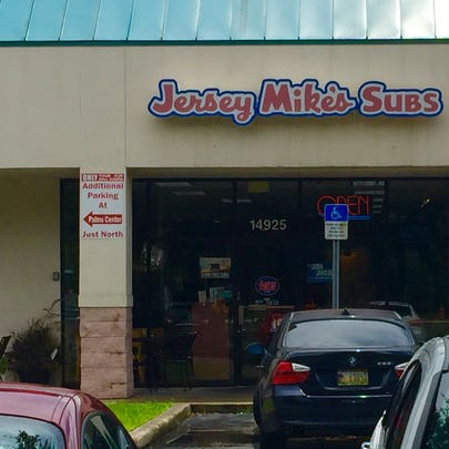 The Jersey Mike's sub shop on Bruce B. Downs was closed