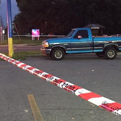 Scene of fatal crash on Atlantic Boulevard