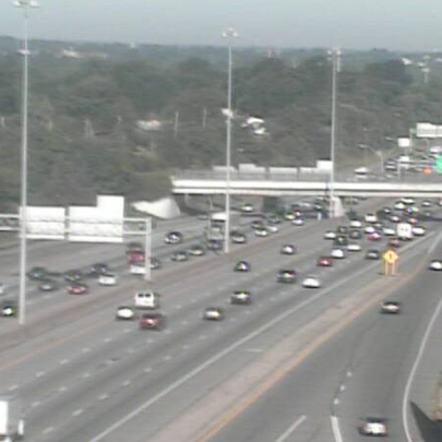 Slow traffic on I-480 EB at Warrensville Center Rd
