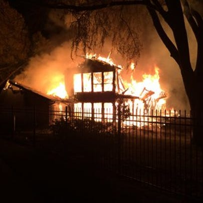 Home destroyed in early morning fire Wednesday owned