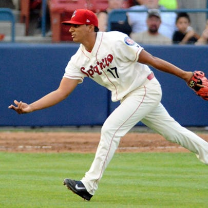 Emerson Martinez tossed five masterful innings leading