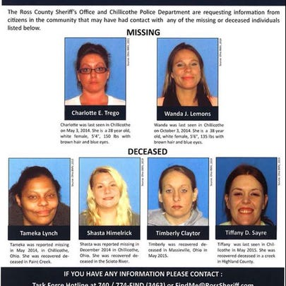 July 1, 2015: Missing Chillicothe women