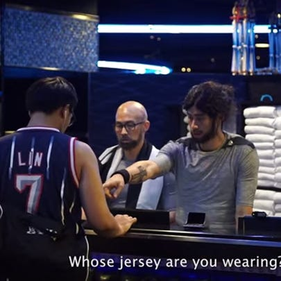"""Jeremy Lin went """"undercover"""" in a new Adidas video."""