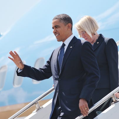President Barack Obama and Senator Patty Murray, D-Wash.,