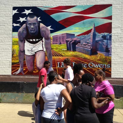 Jesse Owens mural