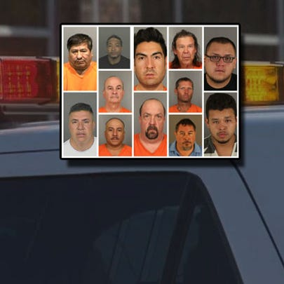 Some of the suspects arrested for felony DUI since