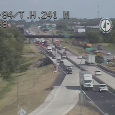 I-94 at Hwy 241 near Rogers is open again following