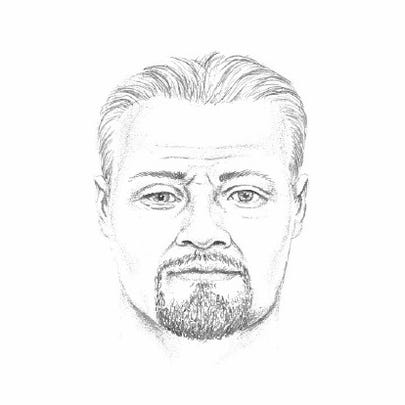 Police released a composite sketch of the suspect --