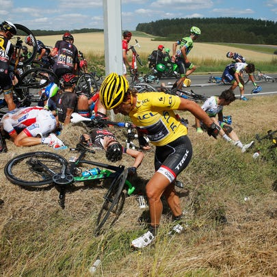 during stage three of the 2015 Tour de France, a 159.5