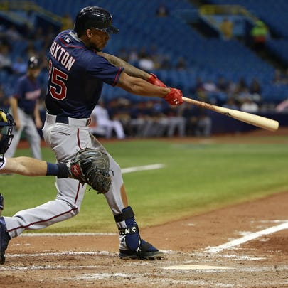 Aug 25, 2015; St. Petersburg, FL, USA; Minnesota Twins