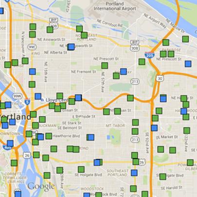 Medical marijuana dispensaries map