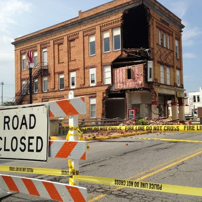 Shelby building collapse