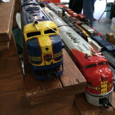 Model trains at the Muskegon Railroad Historical Society