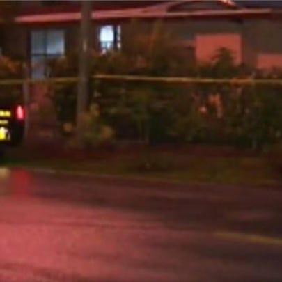 Davie, Florida home where, police say, a father accidentally