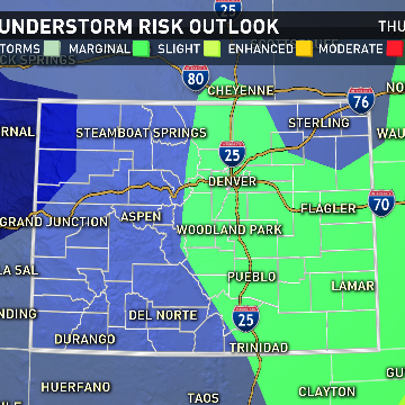Risk for severe storms again Thursday for most of eastern
