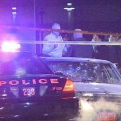 November 2012 Cleveland police chase