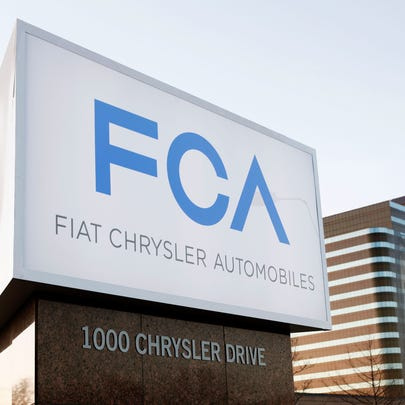 The new Fiat Chrysler Automobiles (FCA) Group sign