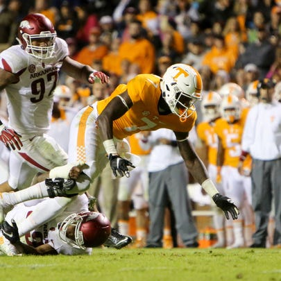 Oct 3, 2015; Knoxville, TN, USA; Tennessee Volunteers