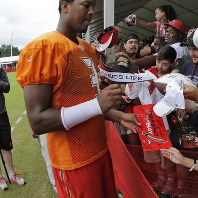 Jameis Winston is already a big draw at his first NFL