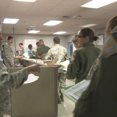 Robins airmen prepare to deploy.