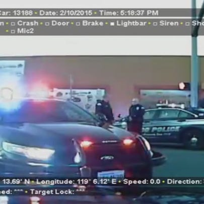 Dash Cam footage from the day three Pasco police officers