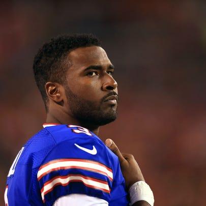 Aug 20, 2015; Cleveland, OH, USA; Buffalo Bills quarterback