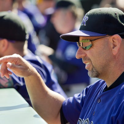 Colorado Rockies manager Walt Weiss on Oct. 4