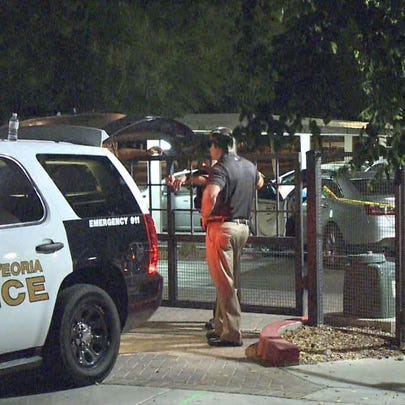 At about 12:40 a.m. Sept. 4, Peoria police received