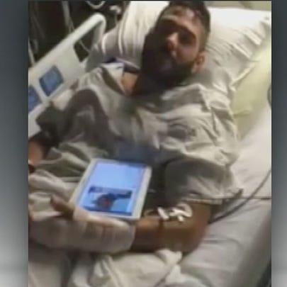 Kivonna Coccia was at the hospital with Chris Mintz