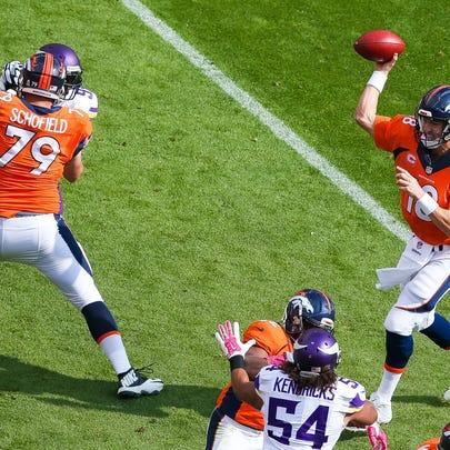 DENVER, CO - OCTOBER 4: Quarterback Peyton Manning