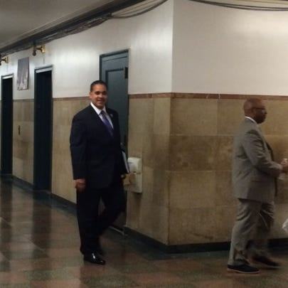 Dr. Kriner Cash prepares to meet the Buffalo School