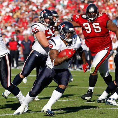 The last time Houston played Tampa Bay, running back