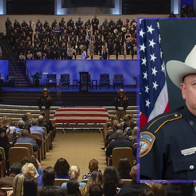 Funeral service for Deputy Darren Goforth