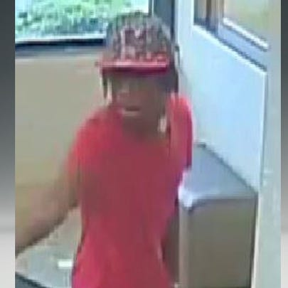 Man wanted in two armed robberies at Charlotte hotels.