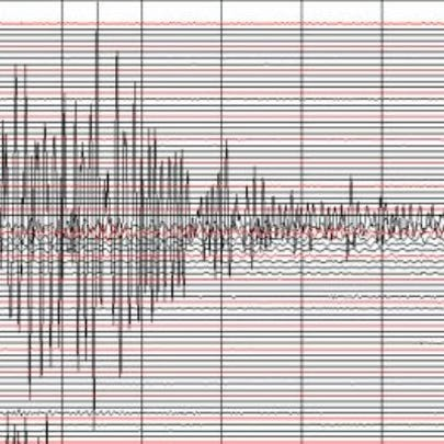 Earthquake registered on the Richter Scale