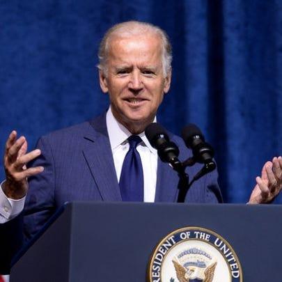 Vice President Joe Biden speaks in Chattanooga, Tenn.,