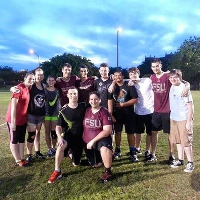 This photo is of last year's Florida State Quidditch