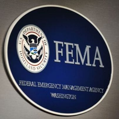 The logo of the Federal Emergency Management Agency
