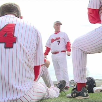 Jim Danley, Eaton's winning baseball coach