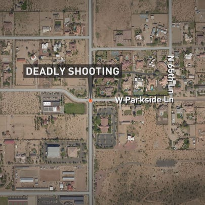 Glendale police say a small group of people were having