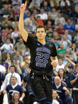 Georgia State guard R.J. Hunter (22) helped himself get noticed by NBA scouts in the NCAA Tournament.