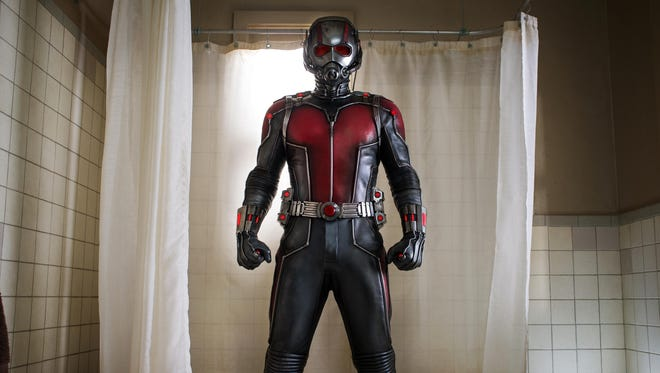 "Paul Rudd appears in a scene from ""Ant-Man."""