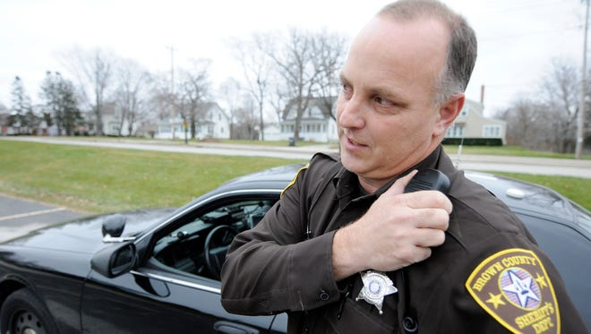 The Brown County Sheriff's Office honored Sgt. Karl Lau Tuesday as its Officer of the Year.