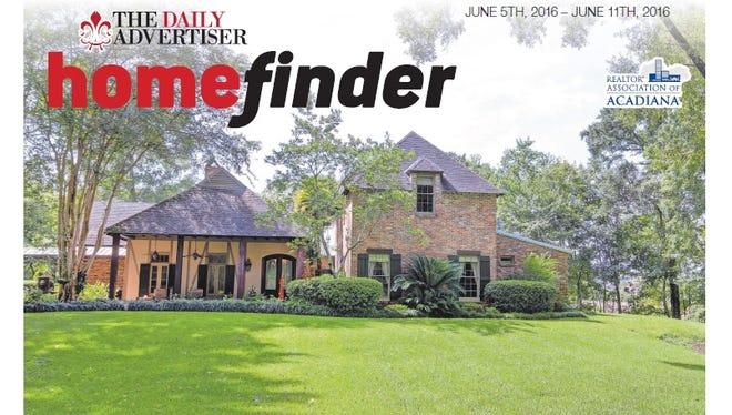 Homefinder June 6 2016