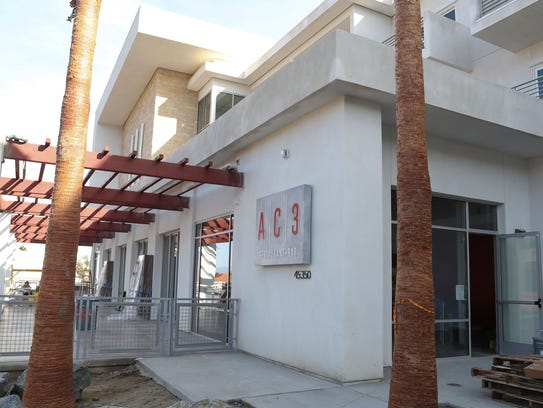 The AC3 restaurant and bar at the new Hotel Paseo in Palm Desert, January 10, 2018. The restaurant and bar -- which will be open to the public and hotel guests -- may be ready to open by the end of January or early February.