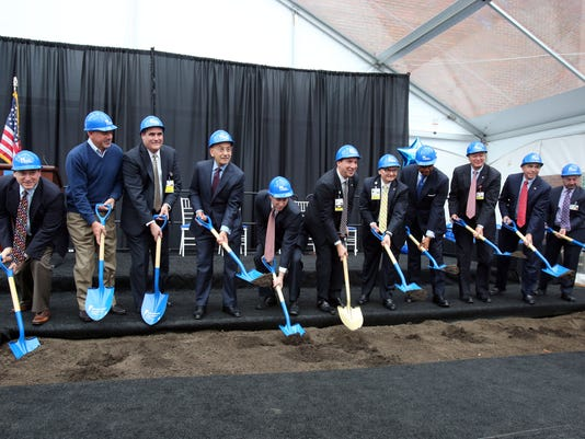 Nyack Hospital groundbreaking