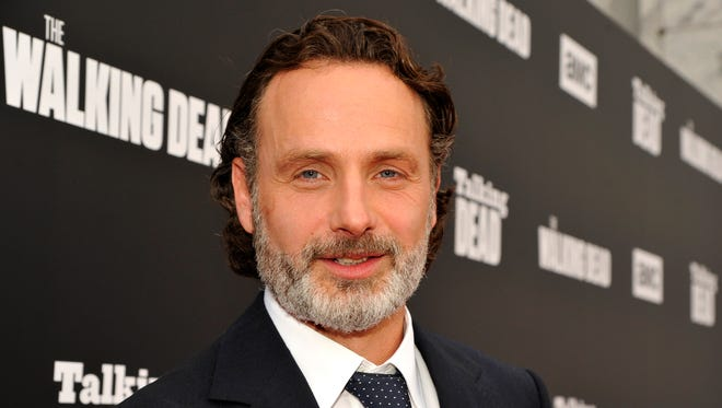 """Andrew Lincoln has been the star of """"The Walking Dead"""" since the premiere episode."""
