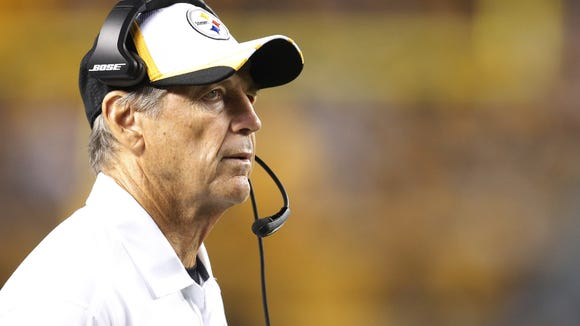 Steelers defensive coordinator Dick LeBeau on Aug.