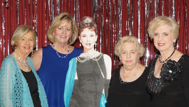 Event chairs -Harriet Hanson, Sheila  Bourke-Reed, Anita Purscell and GG Hanson.
